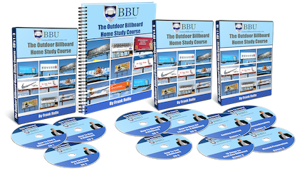 Outdoor Billboard Investment Home Study Course