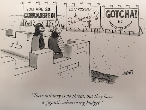 new yorker billboard cartoon