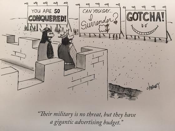 new yorker billboard cartoon