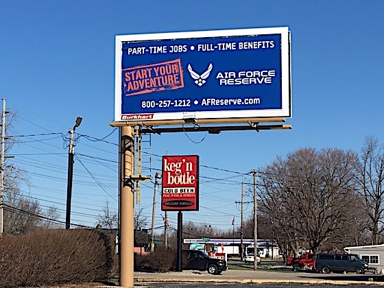 Blue Billboard