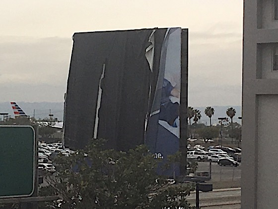 Damaged Billboard