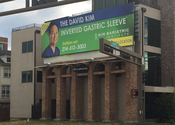 brick billboard poles