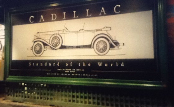 cadillac billboard