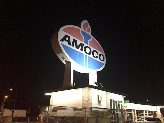 Amoco Billboard