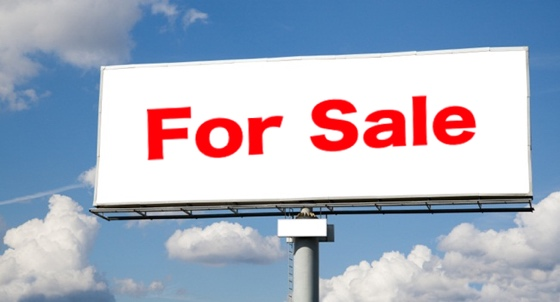 for sale billboard