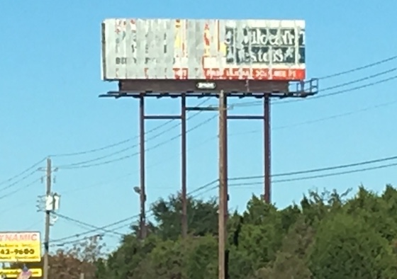 Billboard In Disrepair