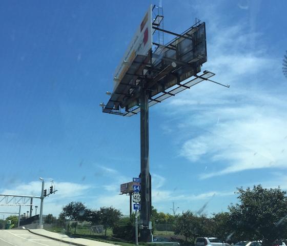 V billboard
