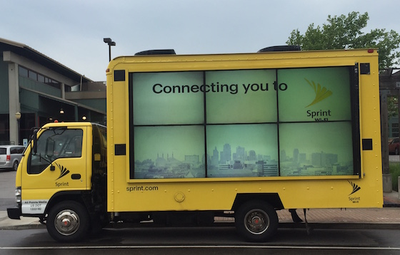 sprint mobile billboard