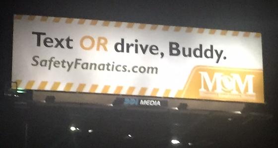 billboard public service announcement