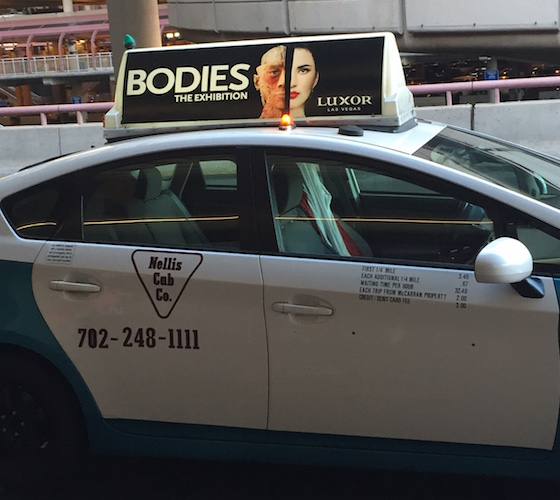 taxi billboard