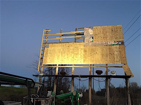 bringing a billboard back to life