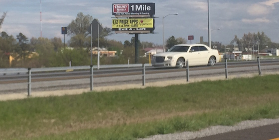 far left billboard
