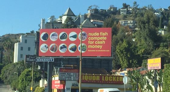 Red Billboard