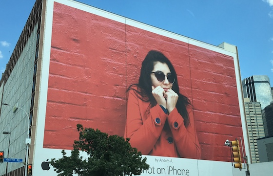Large Billboard Wallscape