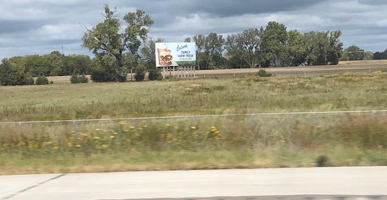 billboard far from road