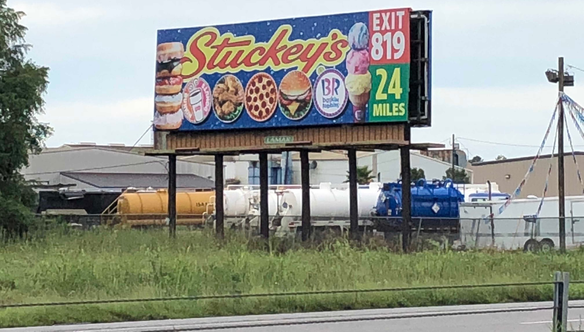 stuckey's billboard