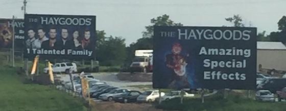 bunching billboards