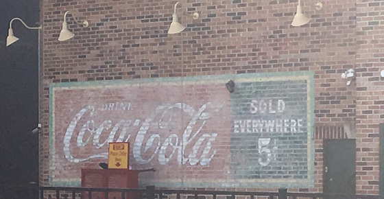 Painted Coke Billboard